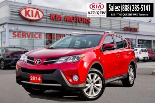 Used 2014 Toyota RAV4 LIMITED  for sale in Etobicoke, ON
