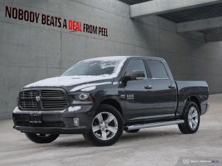 Used 2016 RAM 1500 Sport Crew*Full Leather*Air Susp*NAV*Cam*Mint for sale in Mississauga, ON