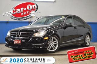 Used 2014 Mercedes-Benz C-Class C300 4MATIC AWD LEATHER NAV SUNROOF REAR CAM for sale in Ottawa, ON