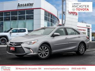 Used 2017 Toyota Camry XLE - 1 OWNER|LEATHER|CAMERA|BLUETOOTH|HEATED SEATS for sale in Ancaster, ON