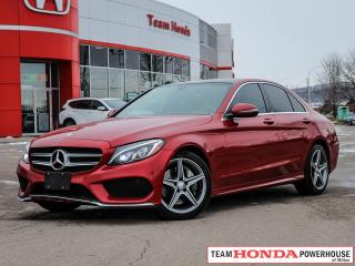 Used 2016 Mercedes-Benz C-Class C 300 | Pano. Roof |  Navigation | 4Matic | 241HP for sale in Milton, ON