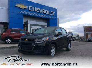 New 2019 Chevrolet Trax LS ALL WHEEL DRIVE for sale in Bolton, ON