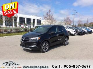 New 2019 Buick Encore Essence - Sunroof - Navigation for sale in Bolton, ON