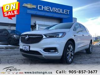 New 2019 Buick Enclave Avenir GM Executive DEMO 0% up to 84/mths for sale in Bolton, ON