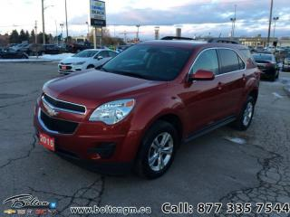 Used 2015 Chevrolet Equinox FWD 1LT -  1LT Package - $128 B/W for sale in Bolton, ON
