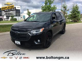 New 2020 Chevrolet Traverse - Premier Package for sale in Bolton, ON