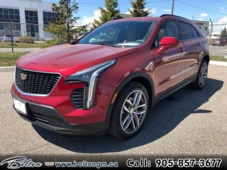 New 2019 Cadillac XT4 Sport - Navigation - Sunroof - $388 B/W for sale in Bolton, ON