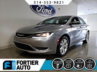 Used 2015 Chrysler 200 Berline 4 portes Limited, traction avant for sale in Montréal, QC