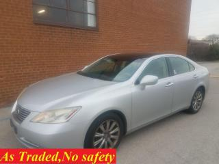 Used 2007 Lexus ES 350 ULTRA PREMIUM-NAVI_ BACKUP CAM_MOONROOF_LEATHER for sale in Oakville, ON