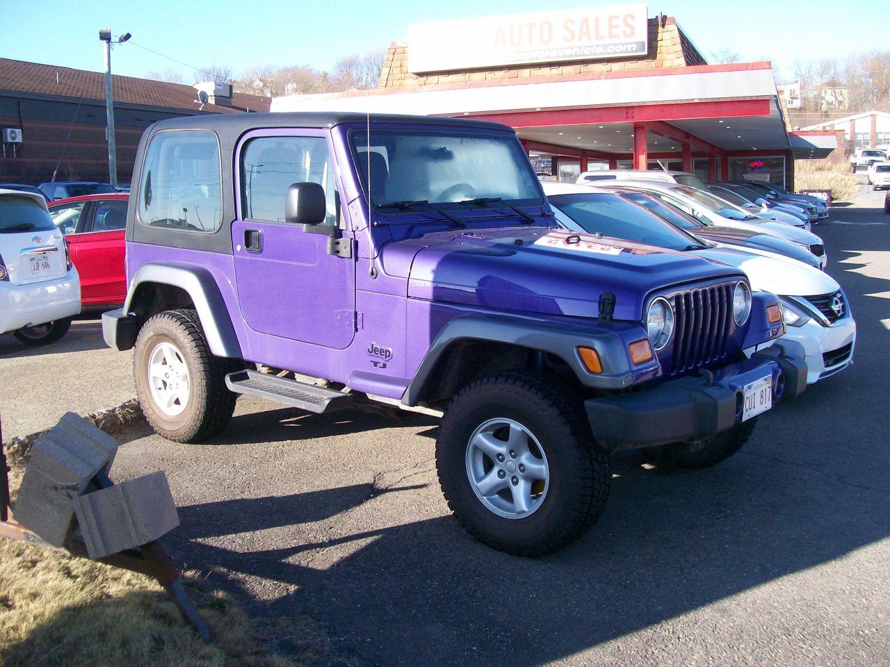 2004 Jeep TJ Sport