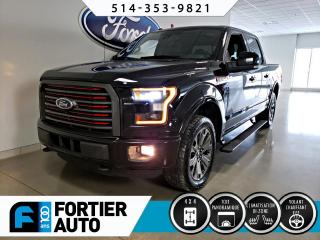 Used 2016 Ford F-150 Cab SuperCrew 4RM 145 po Lariat for sale in Montréal, QC