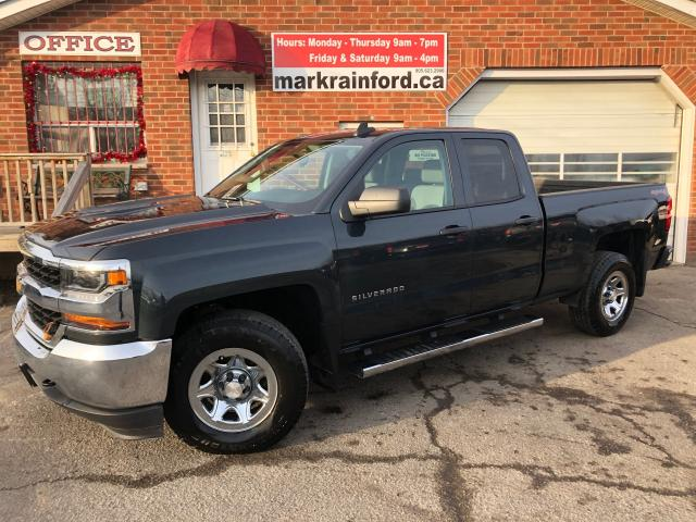2017 Chevrolet Silverado 1500 LS Double Cab 4x4 5.3 V8 Bluetooth