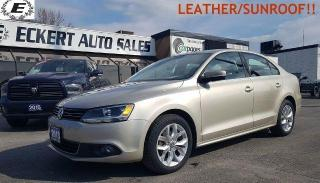 Used 2013 Volkswagen Jetta Highline/DIESEL/ LEATHER!! for sale in Barrie, ON
