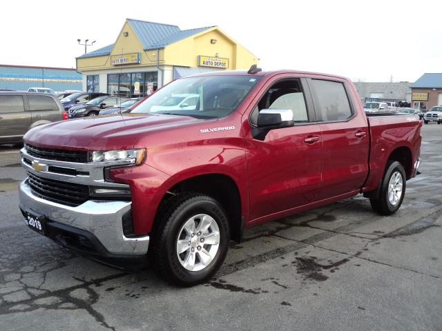 2019 Chevrolet Silverado 1500 LT CrewCab 4x4 2.7L Turbo 5.5ft Box
