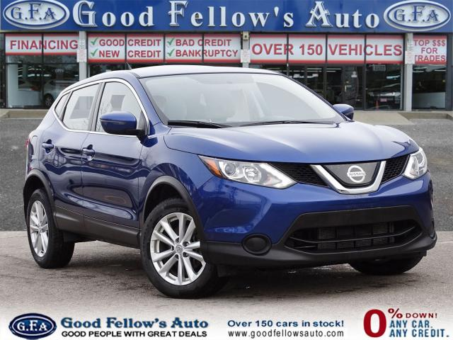 2018 Nissan Qashqai S MODEL, AWD, REARVIEW CAMERA, HEATED SEATS