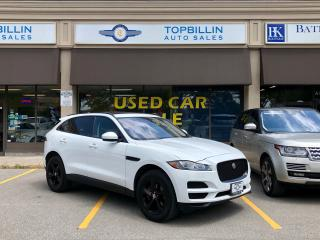 Used 2017 Jaguar F-PACE 35t Prestige, Accident Free, Clean CarFax for sale in Vaughan, ON