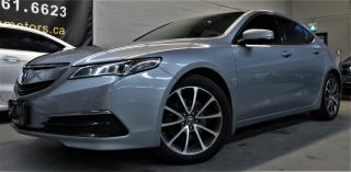 Used 2015 Acura TLX V6 roof clean carfax for sale in North York, ON