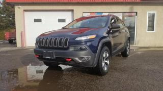 Used 2016 Jeep Cherokee Trailhawk, 4X4, V6 3.2L, NAV. CUIR for sale in Mirabel, QC