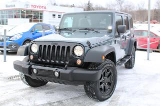 Used 2014 Jeep Wrangler 4 RM, 4 portes, Sport for sale in Shawinigan, QC