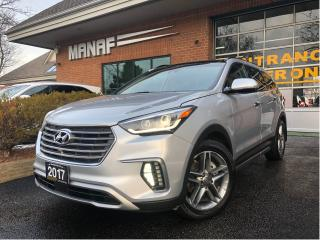 Used 2017 Hyundai Santa Fe XL AWD Ultimate w-6-Passenger Navi Pano Sunroof Cert* for sale in Concord, ON