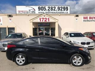 Used 2013 Hyundai Elantra GLS Coupe,Sunroof,Alloys,WE APPROVE ALL CREDIT for sale in London, ON