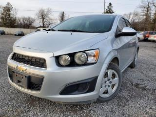 Used 2013 Chevrolet Sonic LS MANUAL SEDAN for sale in Stittsville, ON