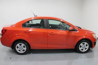 Used 2013 Chevrolet Sonic LS  Sedan Manual for sale in Cambridge, ON