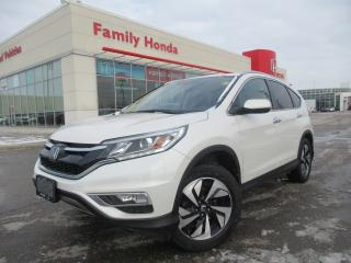 Used 2016 Honda CR-V AWD Touring | GREAT VALUE!! | for sale in Brampton, ON