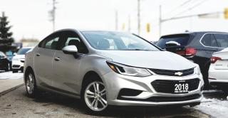 Used 2018 Chevrolet Cruze LT  CERTIFIED   SUNROOF   BACKUP CAM   HEATED SEATS   CARFAX CLEAN for sale in Mississauga, ON