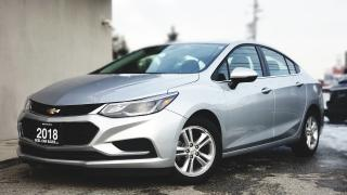 Used 2018 Chevrolet Cruze LT  VIDEO.CALL.US   SUNROOF   BACKUP CAM   HEATED SEATS   CARFAX CLEAN for sale in Mississauga, ON