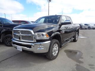 Used 2017 RAM 3500 Laramie 6.7L DIESEL 6CYL 6SPD AUTO for sale in Saint Paul, MB