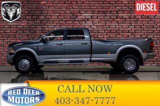 Used 2012 RAM 3500 4x4 Crew Cab Laramie Diesel Dually for sale in Red Deer, AB
