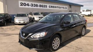 Used 2017 Nissan Sentra 1.8 SV Rear Camera, Only 58810 KMS for sale in Saint Paul, MB