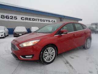 Used 2018 Ford Focus Titanium 2.0L 4CYL 6SPD AUTO HATCHBACK for sale in Saint Paul, MB