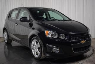 Used 2016 Chevrolet Sonic LTZ HATCH TURBO A/C MAGS TOIT GROS ECRAN for sale in St-Hubert, QC