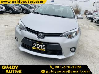 Used 2015 Toyota Corolla 4dr Sdn LE for sale in Mississauga, ON