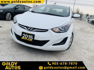 Used 2015 Hyundai Elantra 4dr Sdn (Alabama Plant) for sale in Mississauga, ON