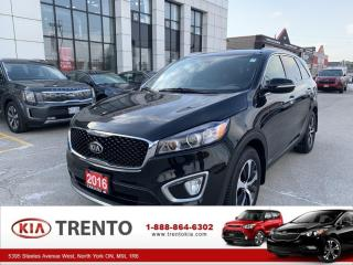 Used 2016 Kia Sorento EX V6 PREMIUM |7 SEATER |PANOROOF|LEATHE|FROM 0.9% for sale in North York, ON