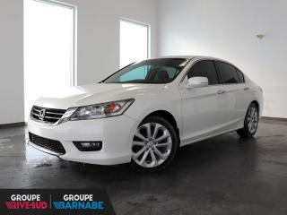 Used 2014 Honda Accord V6 TOURING+CUIR+TOIT+GPS/CAMERA+GARANTIE for sale in St-Jean-Sur-Richelieu, QC