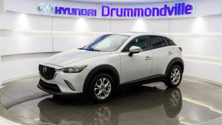 Used 2016 Mazda CX-3 GS AWD + GARANTIE + NAVI + MAGS + CAMERA for sale in Drummondville, QC