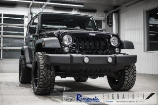 Used 2018 Jeep Wrangler Sport 4x4 chez Rimouski Hyundai for sale in Rimouski, QC