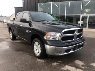 Used 2017 RAM 1500 4WD Crew Cab  SLT, Very Low Kilometers for sale in Ingersoll, ON