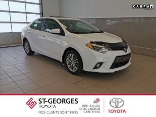 Used 2015 Toyota Corolla LE / Garantie Prolongée for sale in St-Georges, QC