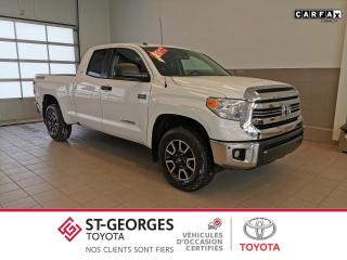 Used 2017 Toyota Tundra SR5 Plus TRD OFF ROAD 5.7L for sale in St-Georges, QC