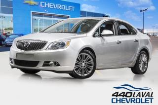 Used 2016 Buick Verano LEATHER CUIR toit ouvrant GPS caméra de recul for sale in Laval, QC