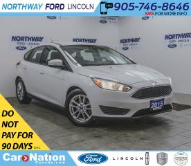 Used 2015 Ford Focus SE | KEY-LESS ENTRY | BACK UP CAM | HATCHBACK | for sale in Brantford, ON