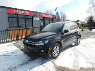 Used 2014 Volkswagen Tiguan COMFORTLINE|4WD|BLUETOOTH|HEATED SEATS for sale in St. Thomas, ON