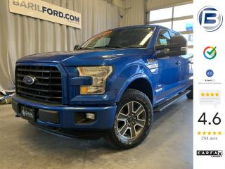 Used 2016 Ford F-150 XLT SPORT 4X4 for sale in St-Hyacinthe, QC