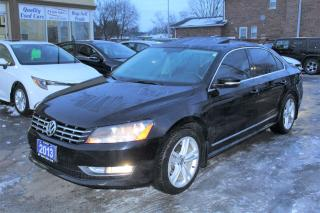 Used 2013 Volkswagen Passat HIGHLINE LEATHER SUNROOF for sale in Brampton, ON