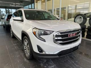 Used 2019 GMC Terrain SLT AWD, ACCIDENT FREE, HEATED STEERING WHEEL, POWER HEATED LEATHER SEATS, NAVI, SKYROOF for sale in Edmonton, AB